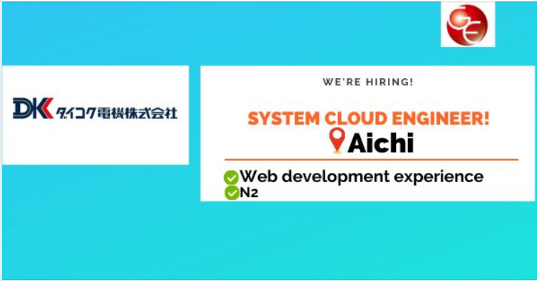System Cloud Engineer (HS-D002-00034)